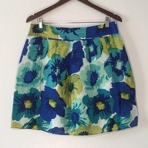 Ann Taylor LOFT-Aline Floral Skirt-Size 10P